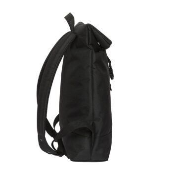 City Fold Top Backpack Black